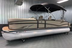 Exterior Design of the 2017 Premier 250 Solaris RF Pontoon Boat