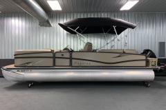 "25"" Pontoon Logs of the 2017 Premier 250 Solaris RF Pontoon Boat"
