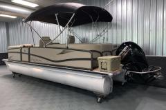 Yeti Cooler on the 2017 Premier 250 Solaris RF Pontoon Boat