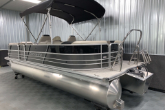 Stainless Steel Ski Tow of the 2021 Berkshire 24RFX LE Pontoon Boat