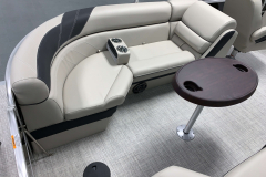 Portable Cupholder Units of the 2021 Berkshire 24RFX LE Pontoon Boat