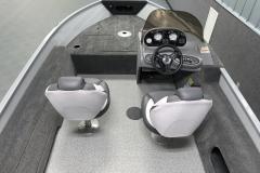 Pro Angler Layout of the 2022 Smoker Craft 161 Pro Angler Fishing Boat