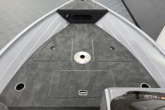 Spacious Bow Casting Deck of the 2022 Smoker Craft 161 Pro Angler Fishing Boat