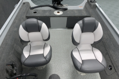 (2) Deluxe Fishing Chairs of the 2022 Smoker Craft 161 Pro Angler Fishing Boat