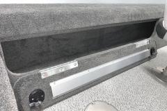 Lockable Rod Storage of the 2022 Smoker Craft 161 Pro Angler Fishing Boat