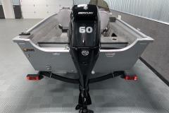 Mercury 60HP Four-Stroke Motor on the 2022 Smoker Craft 161 Pro Angler Fishing Boat