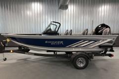 ShoreLand'r Trailer of a 2021 Smoker Craft 172 Explorer Fish And Ski Boat