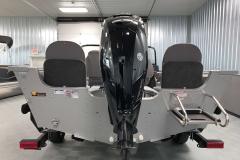 Mercury 115HP Motor of a 2021 Smoker Craft 172 Explorer Fish And Ski Boat