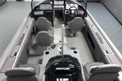 Cabin Layout of a 2021 Smoker Craft 172 Explorer Fish And Ski Boat
