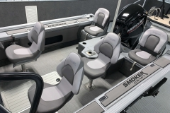 Interior Layout of a 2021 Smoker Craft 172 Explorer Fish And Ski Boat 1