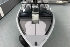 Bow Layout of a 2021 Smoker Craft 172 Explorer Fish And Ski Boat