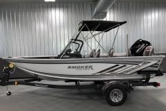 ShoreLand'r Trailer 2021 Smoker Craft 172 Explorer Fish And Ski Boat