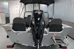 Mercury 150HP Motor of a 2021 Smoker Craft 172 Explorer Fish And Ski Boat