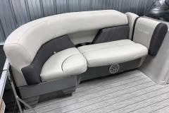 Built-In Cupholders of the 2022 Sylvan Mirage 820 Cruise Pontoon