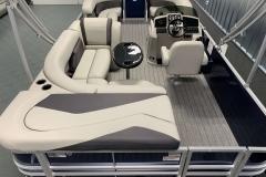 Interior Layout of a 2021 Sylvan Mirage 820 Cruise Pontoon 3