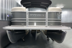 Performance Tritoon Package of a 2021 Sylvan Mirage 8520 Cruise Tritoon Boat