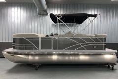 """25"""" Pontoon Logs of a 2021 Sylvan Mirage 8520 Cruise Tritoon Boat"""