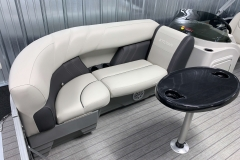 Starboard Side Bow Seating of a 2021 Sylvan 8520 Party Fish Pontoon Boat