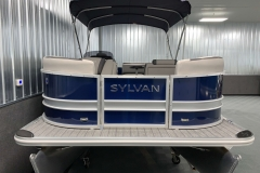 Bow Swim Deck of the 2021 Sylvan L1 Cruise Pontoon Boat