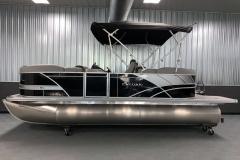 "25"" Pontoon Logs of the 2021 Sylvan L1 LZ Pontoon Boat"