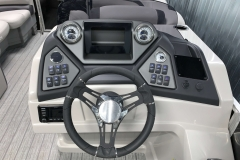 Bluetooth JL Audio Stereo of the 2021 Sylvan L1 LZ Pontoon Boat