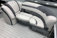 Built-In Cupholders of the 2021 Sylvan L1 LZ Pontoon Boat