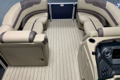 Interior Bow Layout of the 2021 Sylvan L1 LZ Pontoon Boat