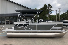 "25"" Pontoon Logs of the 2021 Sylvan L1 LZ Pontoon Boat"