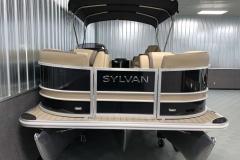 Bow Deck of a 2022 Sylvan L1 LZ Tritoon Boat