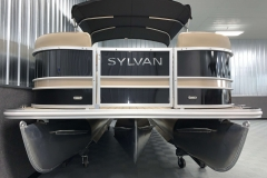 Performance Tritoon Package of a 2022 Sylvan L1 LZ Tritoon Boat