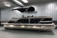 10' Bimini Top of the 2021 Sylvan L3 DLZ Pontoon Boat