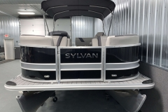 Bow Swim Deck of the 2021 Sylvan L3 DLZ Pontoon Boat