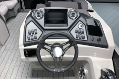 Bluetooth JL Audio Stereo of the 2021 Sylvan L3 DLZ Pontoon Boat
