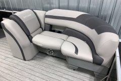 Built-In Cupholders of the 2021 Sylvan L3 DLZ Pontoon Boat