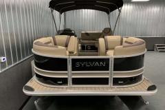 Bow Swim Deck of the 2021 Sylvan L3 DLZ Pontoon Boat
