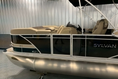 D-Rail Panel Design of the 2021 Sylvan L3 DLZ Pontoon Boat