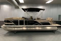 "25"" Pontoon Logs of the 2021 Sylvan L3 DLZ Pontoon Boat"