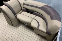 Built-In Cupholders of the 2021 Sylvan L3 DLZ Pontoon Boat
