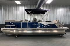 "25"" Pontoon Logs of the 2022 Sylvan L3 DLZ Pontoon Boat"