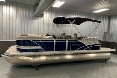10' Bimini Top of the 2022 Sylvan L3 LZ Pontoon Boat