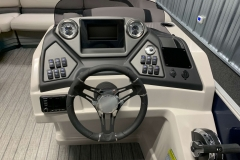 Drivers Console of the 2021 Sylvan L3 LZ Pontoon Boat