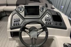 Bluetooth JL Audio Stereo of the 2022 Sylvan L3 LZ Pontoon Boat
