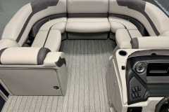 Portable Gate Seat of the 2022 Sylvan L3 LZ Pontoon Boat