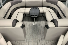 Removable Snack Table of the 2021 Sylvan L3 LZ Pontoon Boat