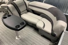 Built-In Cupholders of  the 2022 Sylvan L3 LZ Pontoon Boat