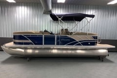 "25"" Outer Logs of the 2021 Sylvan L3 LZ Tritoon Boat"