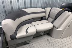 Built-In Cupholders of the 2021 Sylvan L3 LZ Tritoon Boat