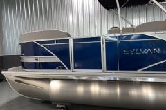 D-Rail Panel Design of the 2022 Sylvan L3 Party Fish Pontoon Boat