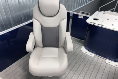 Deluxe Fishing Chairs of the 2022 Sylvan L3 Party Fish Pontoon Boat