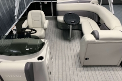 Interior Layout of a 2022 Sylvan 8520 Cruise Pontoon